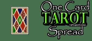 One Card Tarot Spread